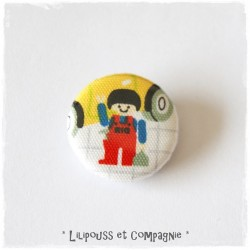 Badge en Tissu  « Collection LES BADGES  – LES PILOTES (2)  »